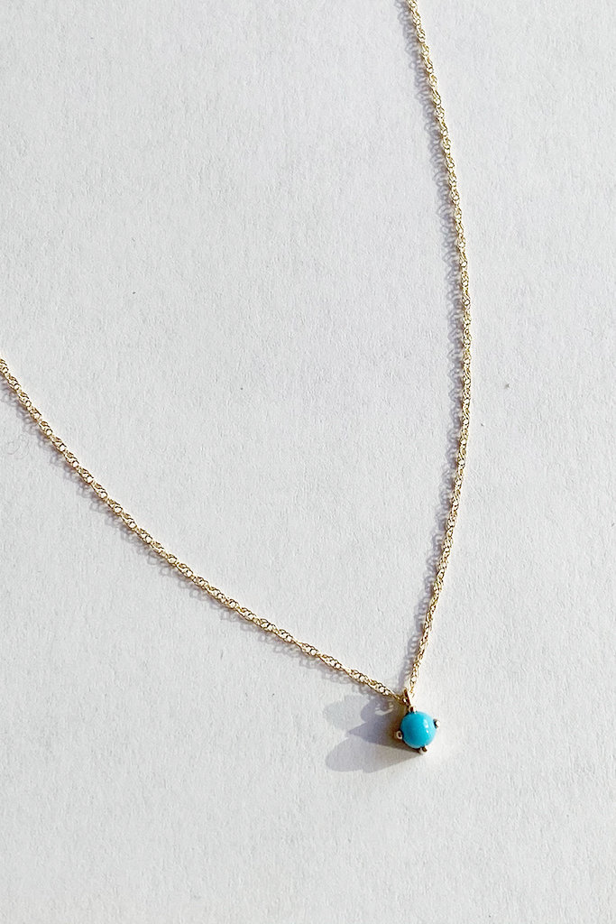 Kristen Elspeth Turquoise Neptune Necklace