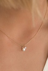 Leah Alexandra Isabel Necklace Pearl GF