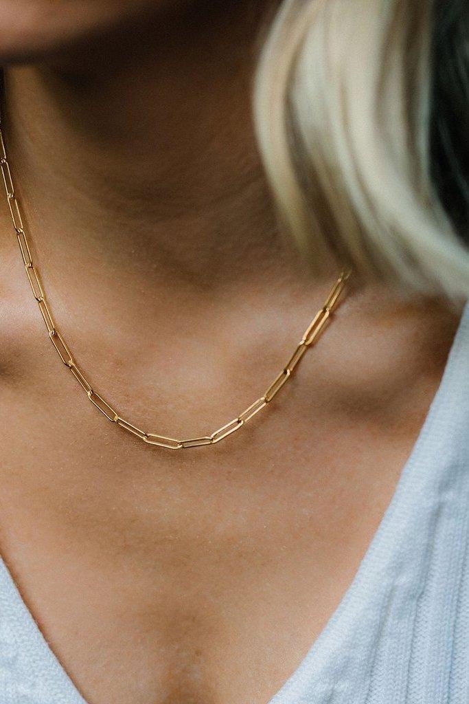 Leah Alexandra Hailey Chain Gold Filled