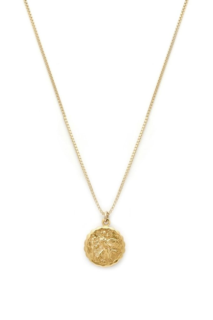 Leah Alexandra St Christopher Necklace