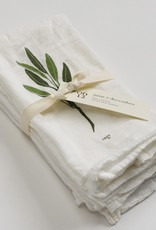 june & december Napkins Unbleached Set of 4