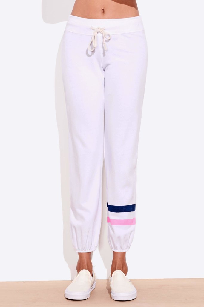 Sundry Two Tone Stripe Sweatpants