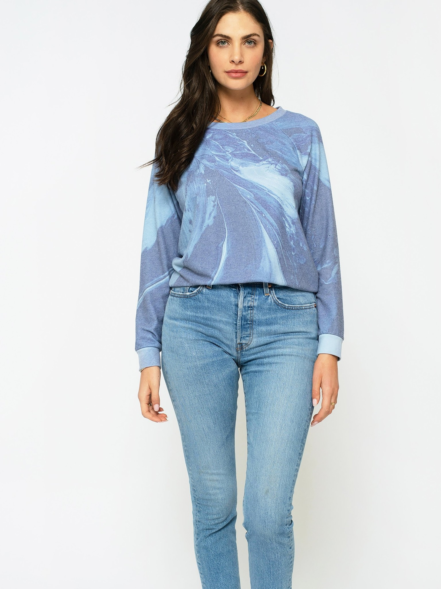 Sol Angeles Hacci Pullover