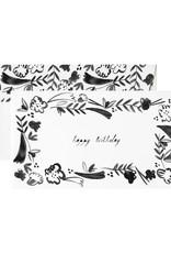 Mr. Boddington Cards Birthday Fleurs Card