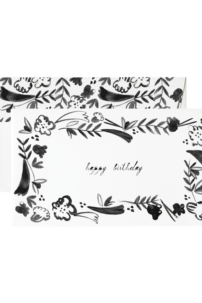 Mr. Boddington Cards Birthday Fleurs Card