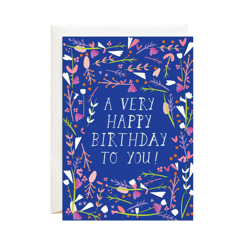 Mr. Boddington Cards Happy Birthday Dear Friend