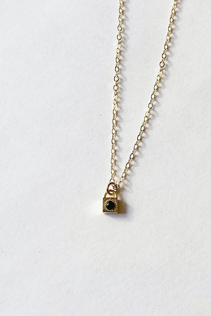 Merewif Onyx Loner Necklace