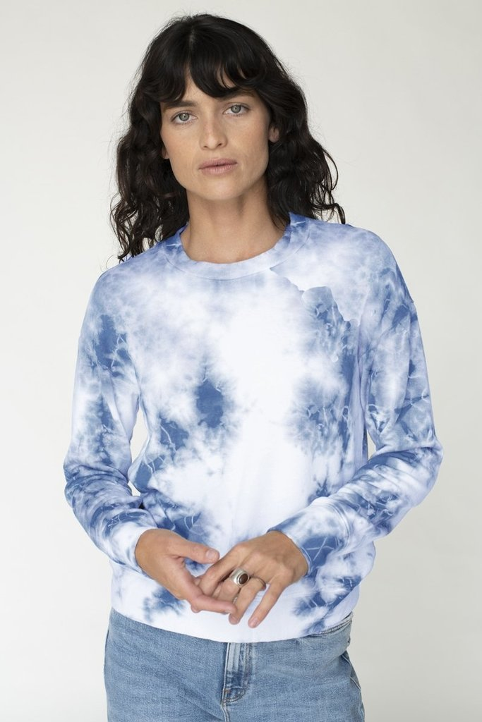 Stateside Fleece Pullover Tie Dye