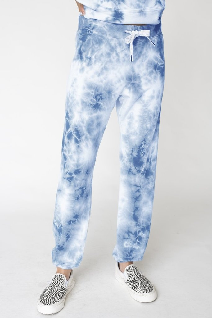 Stateside Fleece Tie Dye Pants - Size S