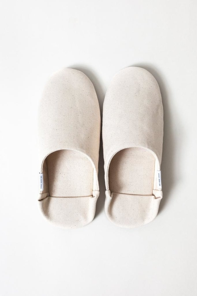Morihata Abe Canvas Canvas Slippers - Size S