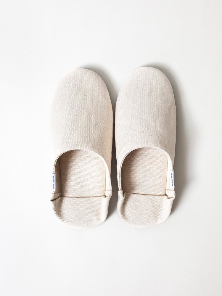 Morihata Abe Canvas Canvas Slippers