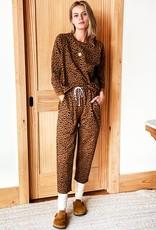 Emerson Fry Emerson Fry Drawstring Pants Vintage Leopard