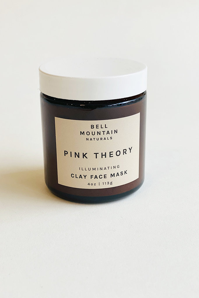 Bell Mountain Naturals Pink Theory Clay Face Mask