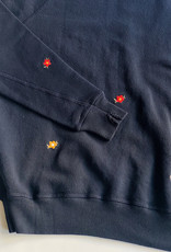 The Great The Great College Sweatshirt Seed Floral Embroidery - Multiple Colors