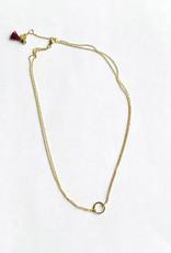 shashi Circle Necklace