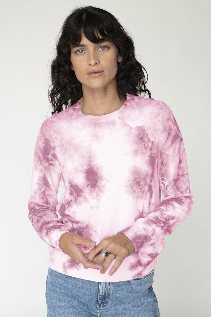 Stateside Fleece Pullover Tie Dye - Size L