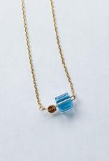 Et Toi Crystal Pendant Necklace