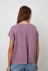 Velvet Hudson Stretch Linen Top