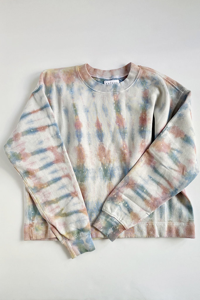 Velvet Jody Tie Dye Sweatshirt - Multiple Colors