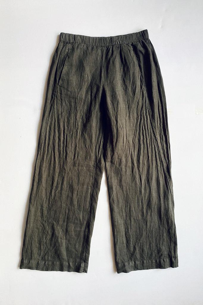 Velvet Lola  Wide Leg Linen Pant