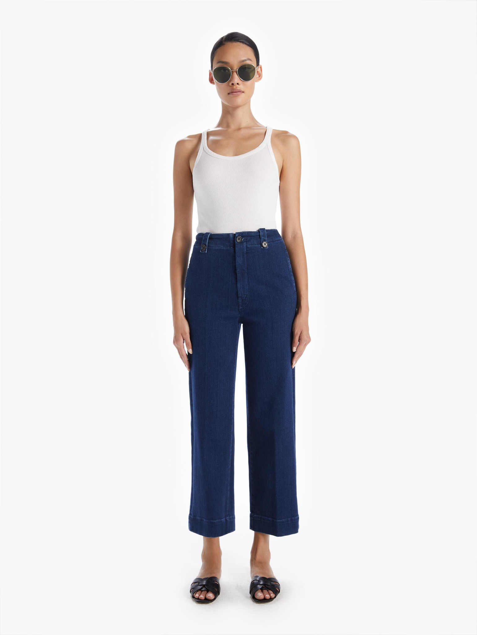 Mother The Zipped Greaser Loop Jeans