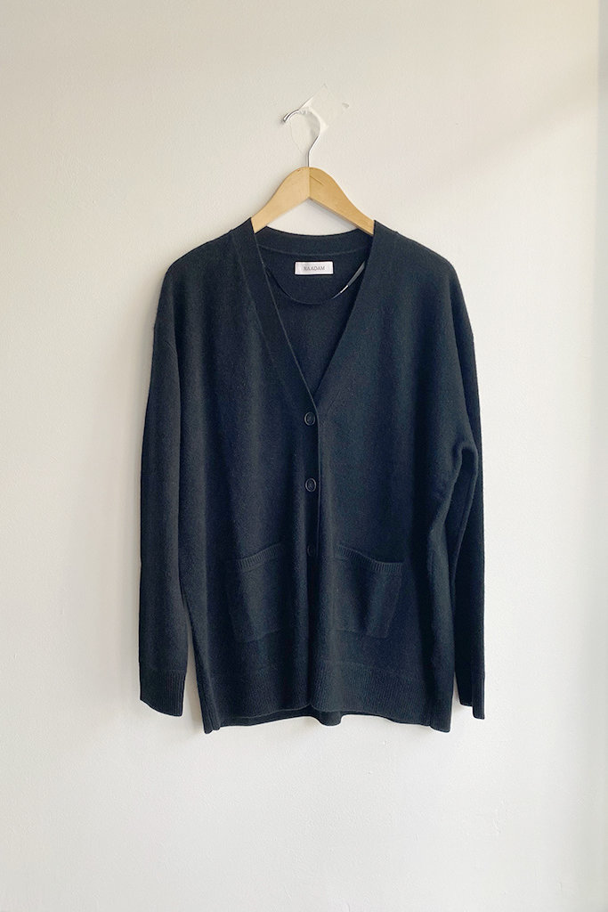 Naadam Everyday Drop Shoulder Cashmere Cardigan - Size M