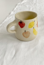 Alice Cheng Studio Hand Painted Fruit Mugs