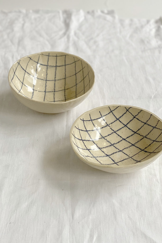 Alice Cheng Studio Line Drawing Bowls