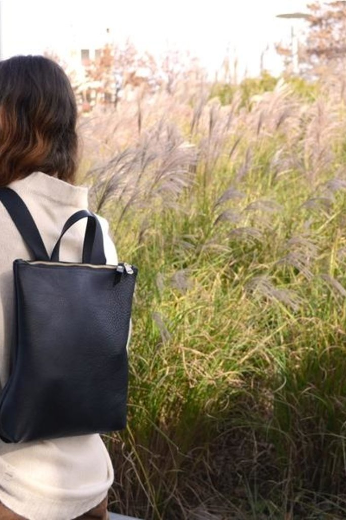 Shana Luther Sport Hill Leather Backpack