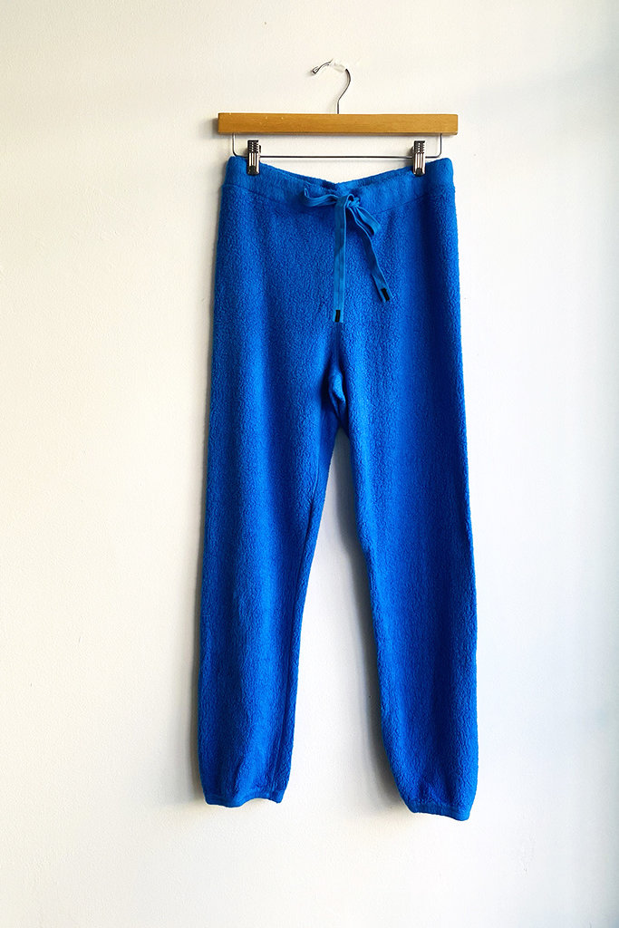 Stateside Sherpa Sweatpant Electric Blue