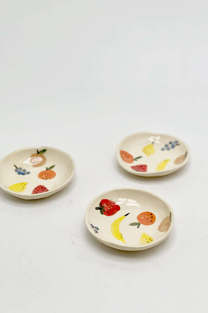 Alice Cheng Studio Little Ceramic Fruit Dishes