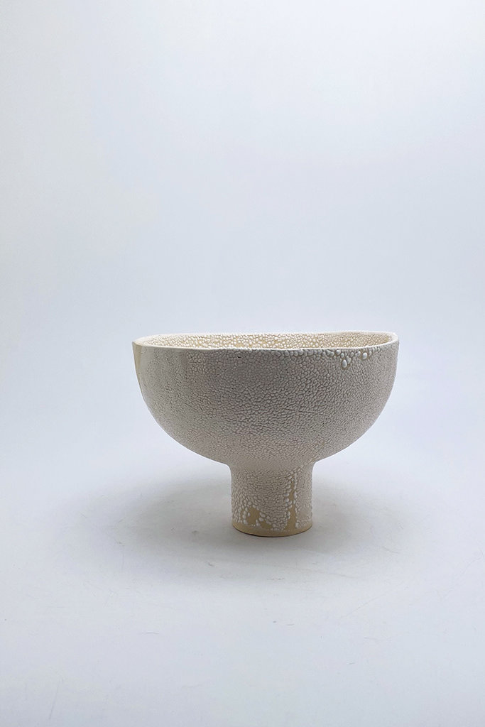 Alice Cheng Studio Short Footed Pedestal Bowl