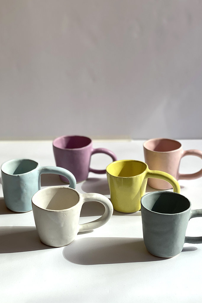 Alice Cheng Studio Big Loop Handle Mugs