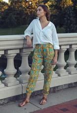 Mille Isla Block Print Cotton Pant - Two Colors