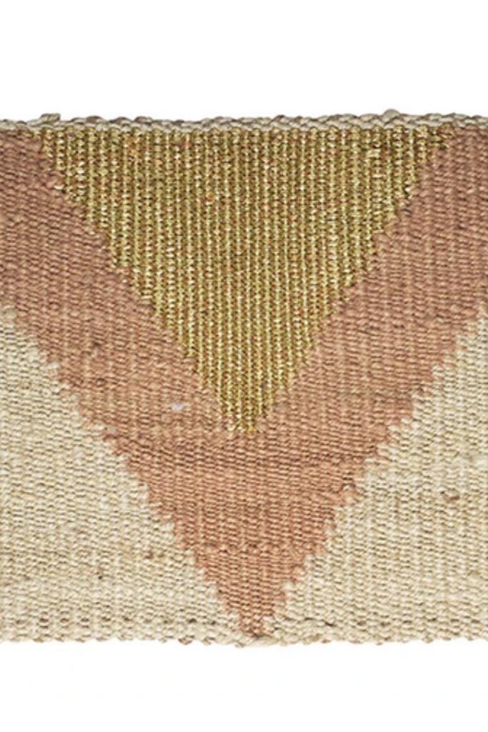 Langdon Ltd Arrow Mat Gold/Peach