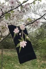 This Night Sakura Floral Cotton Blend Socks