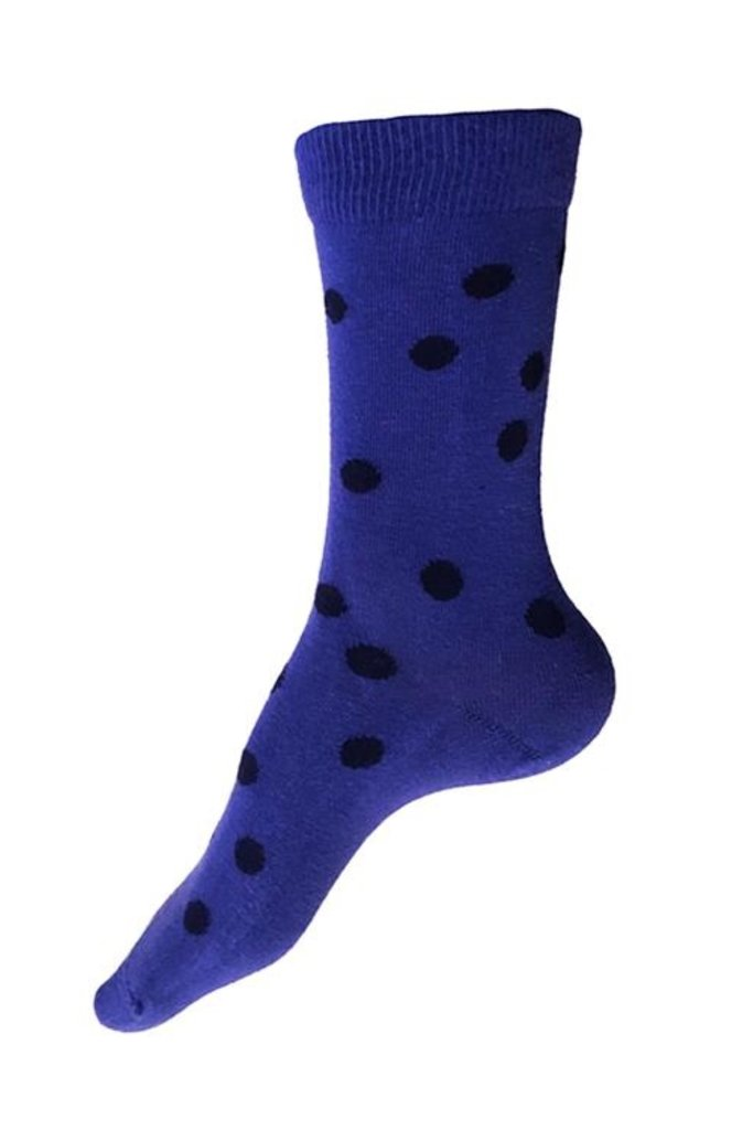 This Night Small Bubble Cotton Blend Socks