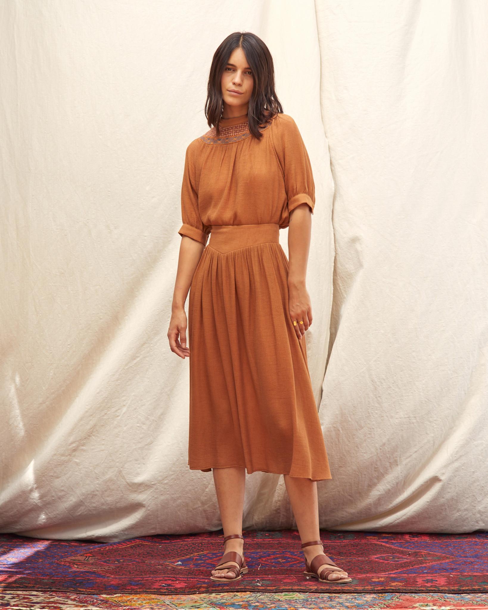 Sessun Ellen High Waist Floaty Skirt