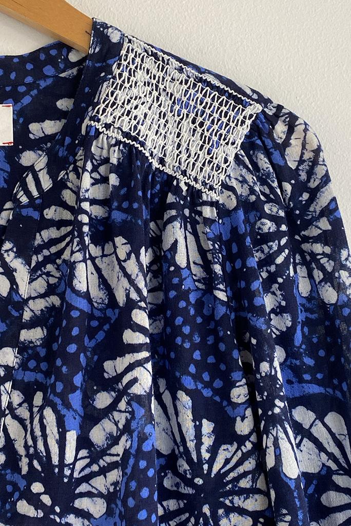 Xirena Aimi Cotton Splitneck Top - Two Colors