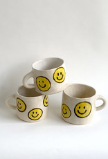 Alice Cheng Studio Extra Large Mini Smiley Face Mugs