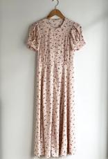 Sessun Adelaida Short Sleeve Button Up Midi Dress