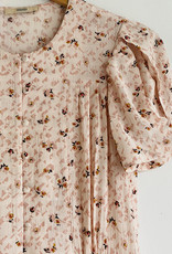 Sessun Adelaida Short Sleeve Button Up Midi Dress - Size L