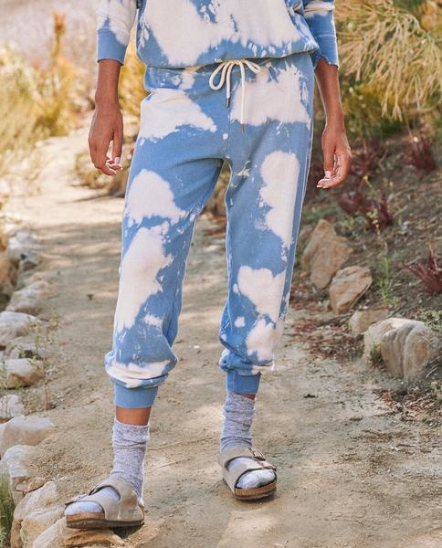 The Great The Cropped Sweatpant Cloud Wash