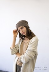 It Is Well L.A. Flower Knit Beanie O/S - Multiple Colors