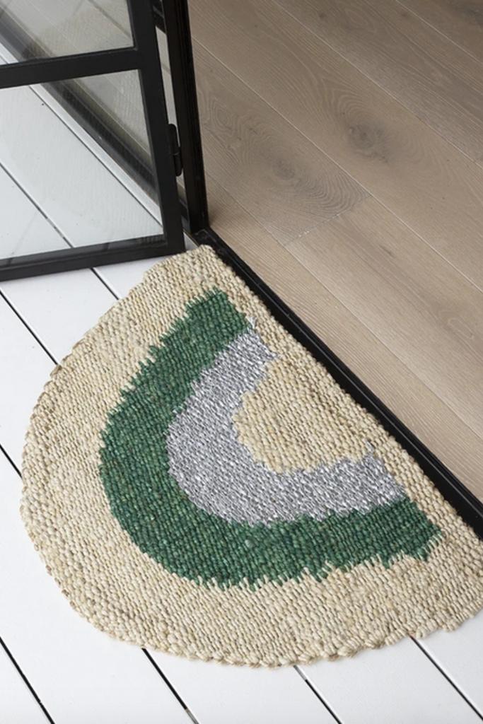 Langdon Ltd Aquarius Half Round Doormat