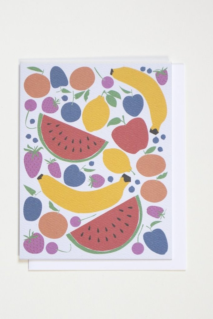 Banquet Fruits Note Card
