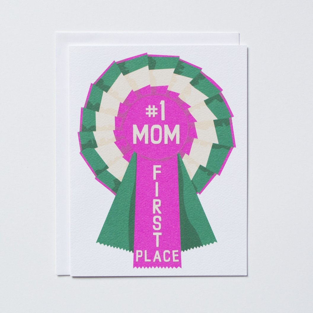 Banquet #1 Mom! Mothers Day Card