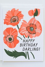 Banquet Happy Birthday Darling Note Card