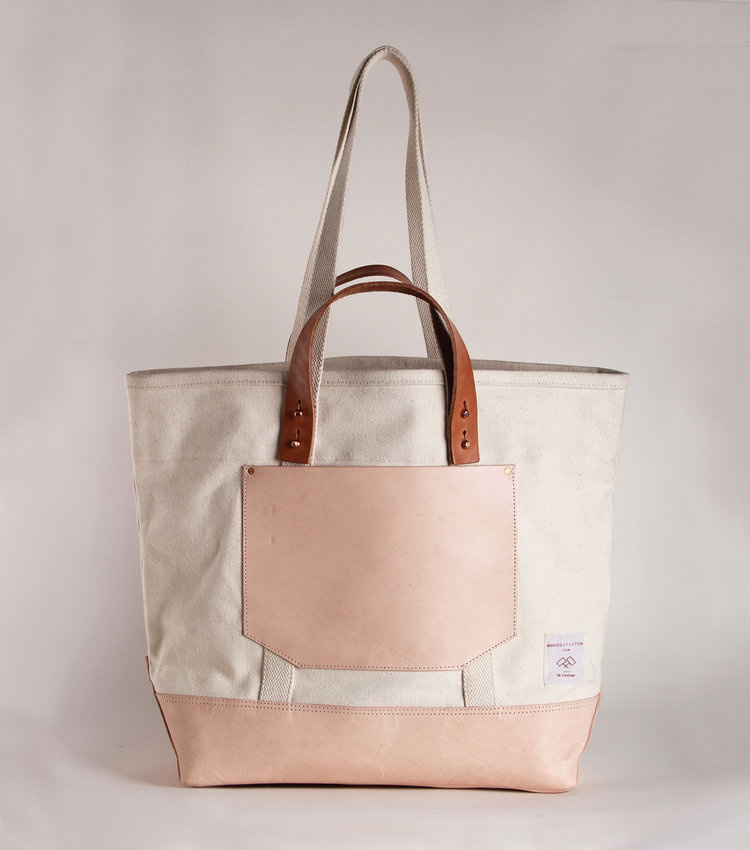 Fleabags Bucket Tote Natural