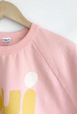 Clare V Oui Rose Cotton Sweatshirt - Size L